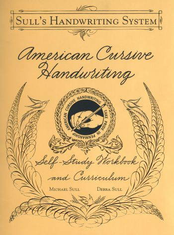 A Closer Look At American Cursive Handwriting B3303 By