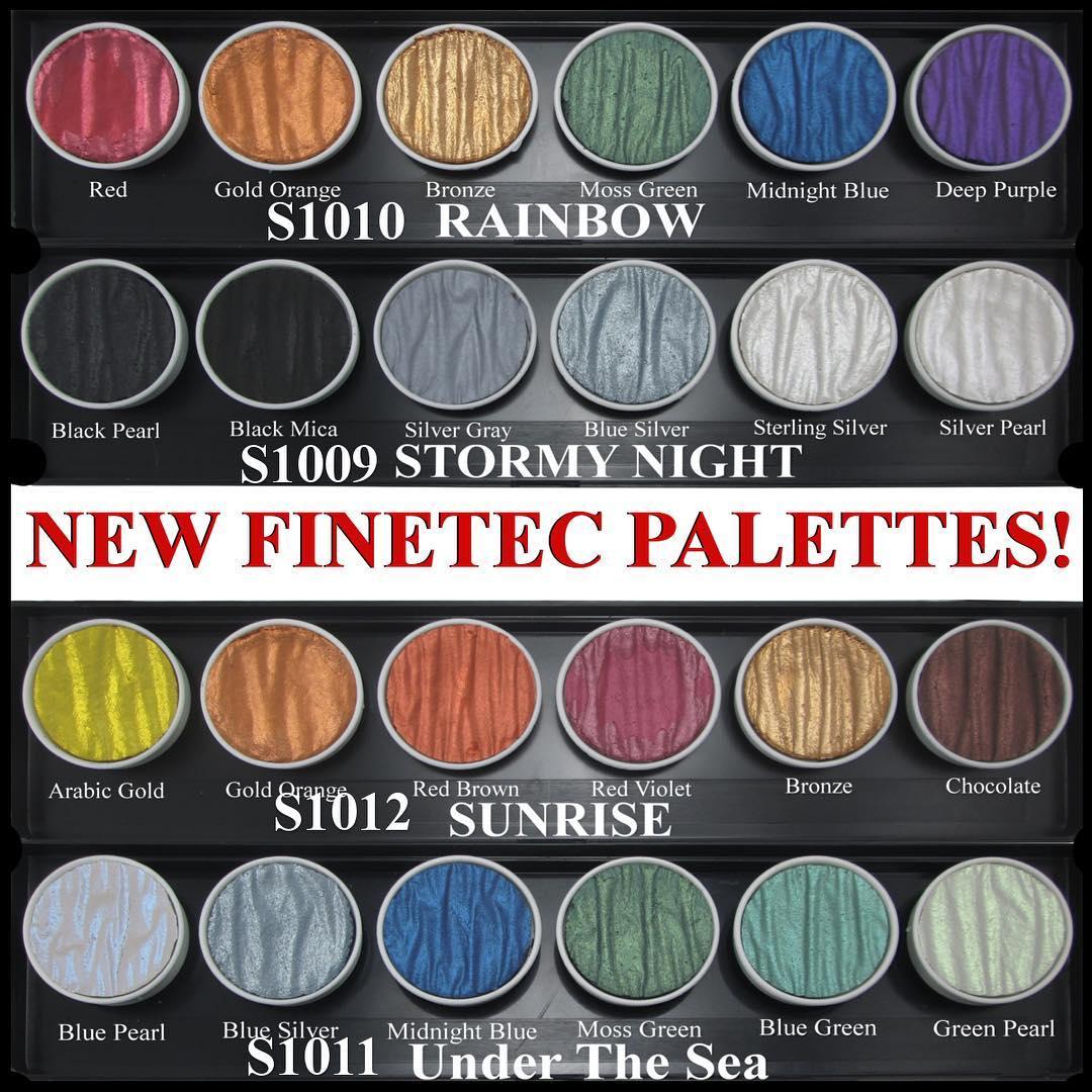 New finetec artist mica watercolor palettes john neal new finetec mica nvjuhfo Images